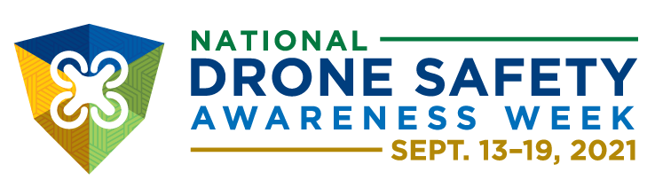 The logo for National Drone Safety Awareness Week