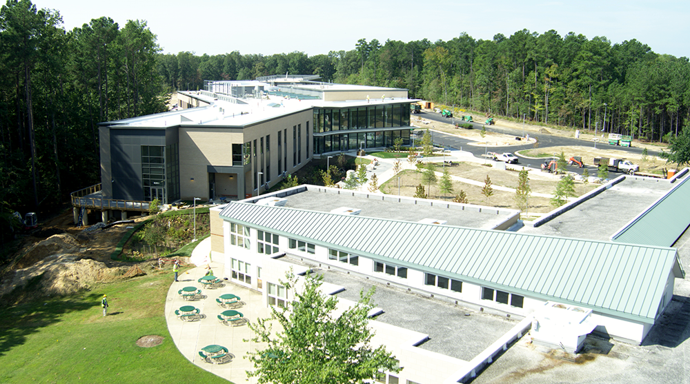A photo of the new SMART Innovation Center